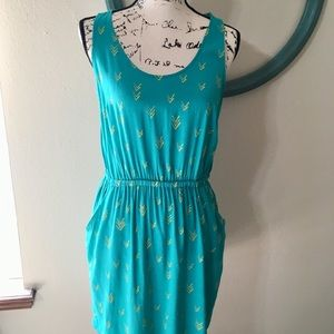 Fun in the sun dress with pockets & back cut out